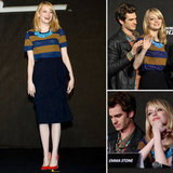 Emma Stone and Andrew Garfield Get Cute at a Press Conference