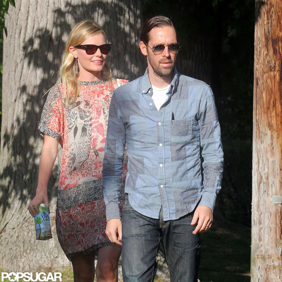 Kate Bosworth and Michael Polish hung out in LA.