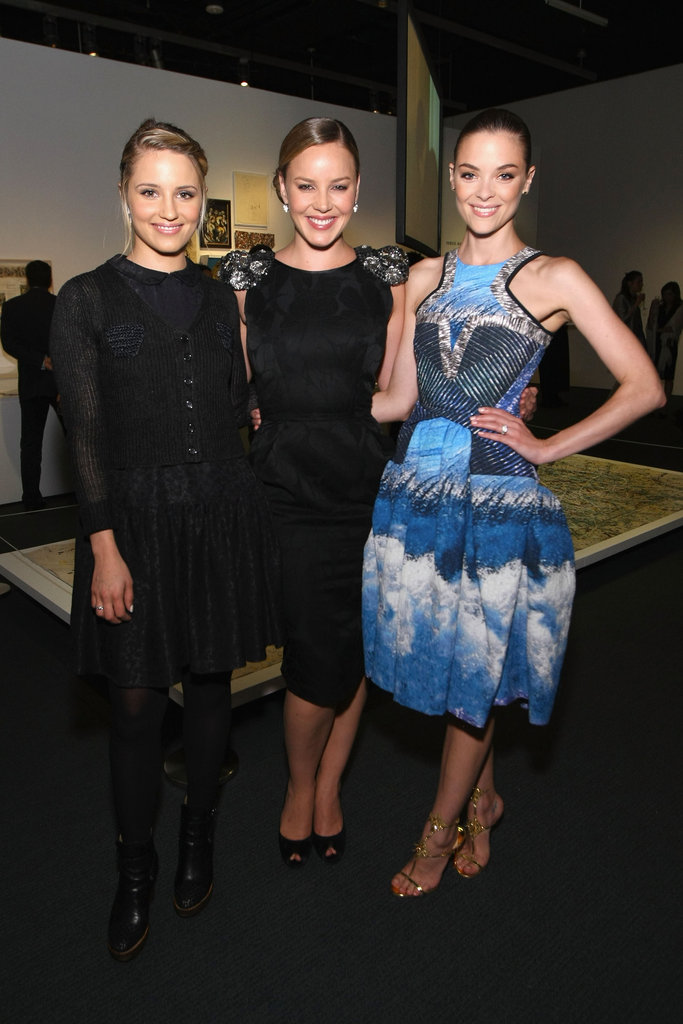 Dianna Agron, Abbie Cornish, and Jaime King got together at the Persol Magnificent Obsessions event in NYC.