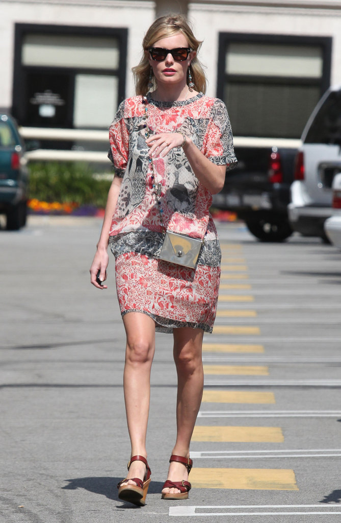 Kate Bosworth hung out in LA.