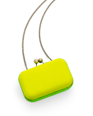 Yellow/Green Neon Clutch