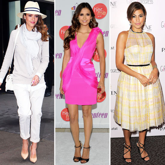 LWDs, Polka-Dots, and More — Celebs Show Off Summer's Hottest Trends