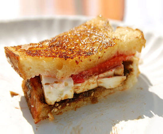 Strawberry Cheese Sandwich
