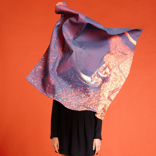 Tempes de Reves for Sportsgirl: Snoop the Collaboratively Designed Adrian Mesko Photographic Print Scarves