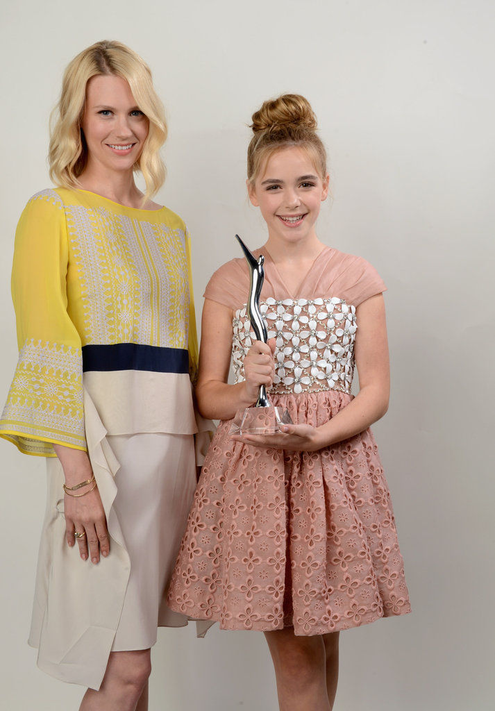 January Jones and Kiernan Shipka