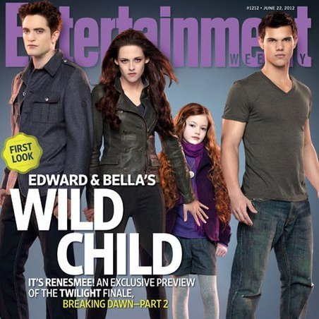 EW Renesmee Cover Reactions