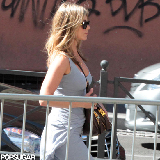 Jennifer Aniston went on a Rome vacation.