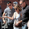 Jennifer Aniston and Justin Theroux Pictures in Rome