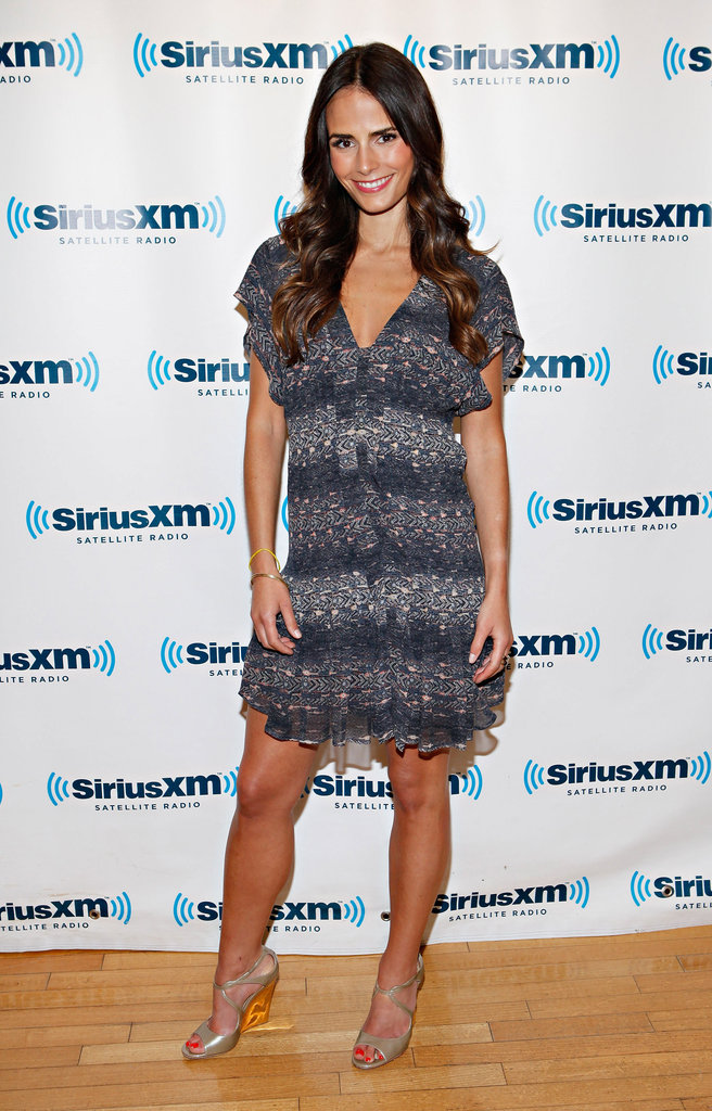 Jordana Brewster's printed chiffon dress is the perfect brand of chic for just about any Summer occasion.