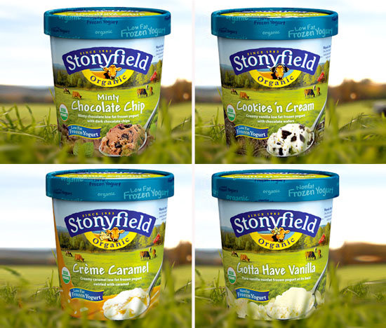 Stonyfield Farm Organic Frozen Yogurt