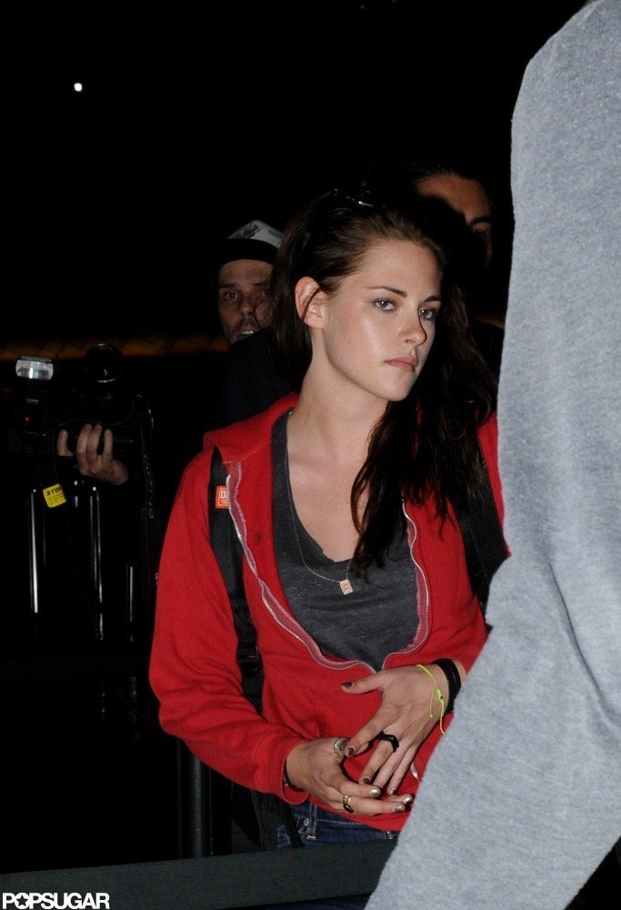 Kristen Stewart Lands in Sydney For SWATH