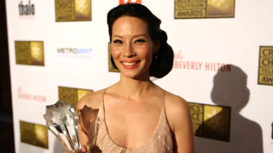 Video: Lucy Liu Shocked Over Southland Critics' Choice Win