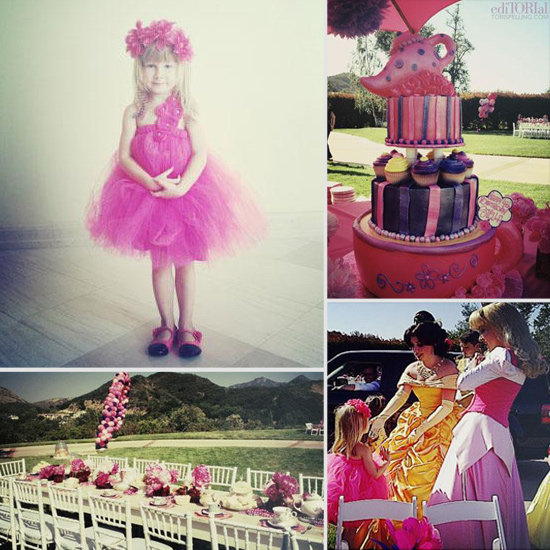 Tori Spelling Shares Stella McDermott's Fourth Birthday Tea Party