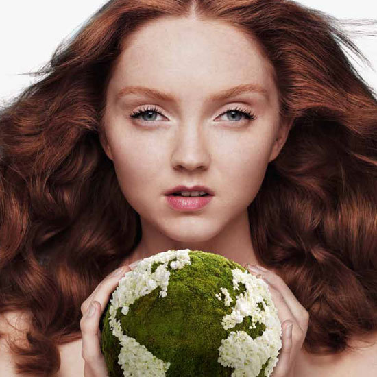 Lily Cole for The Body Shop