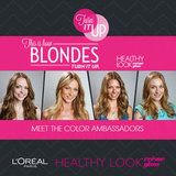 Meet the L'Oréal Blonde Color Ambassadors!