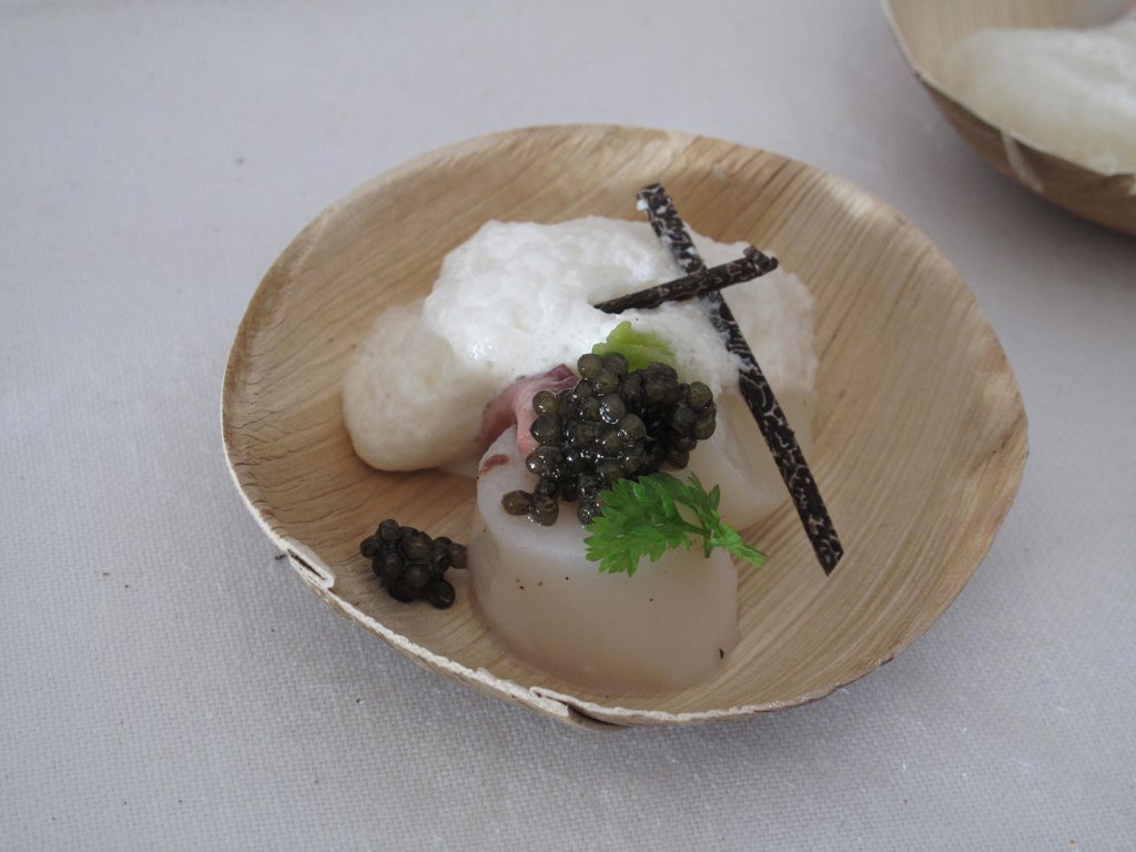Best New Chef Dish: Sea Scallop With Caviar