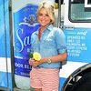 Ali Fedotowsky Red Striped Shorts