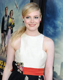 Gillian Jacobs smiled at the LA premiere of Seeking a Friend For the End of the World.