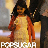 Suri Cruise got ice cream in NYC.