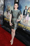 Melanie Lynskey attended the LA premiere of Seeking a Friend For the End of the World.