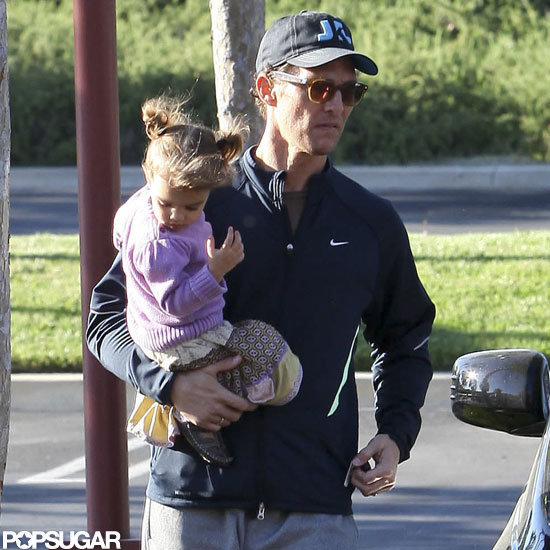 Matthew McConaughey carried Vida McConaughey.