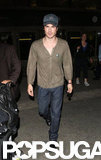 Ian Somerhalder returned from Europe.