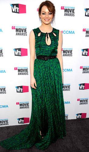 10. Emma Stone