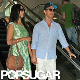 Matthew McConaughey and Camila McConaughey held hands.