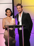 Lucy Liu and Shane West shared the stage at the Critics' Choice Television Awards in LA.