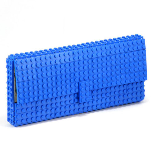 Blue Lego Clutch on Etsy