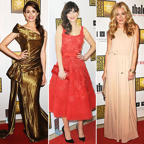 Pictures of Celebrities at the 2012 Critics' Choice Television Awards: See Who Wore What!