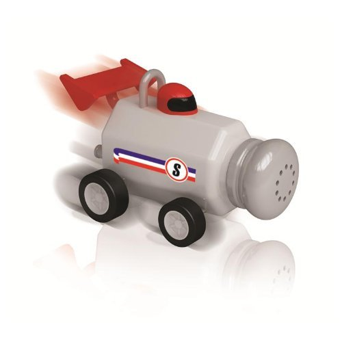 Formula Fun Race Car Salt and Pepper Shakers
