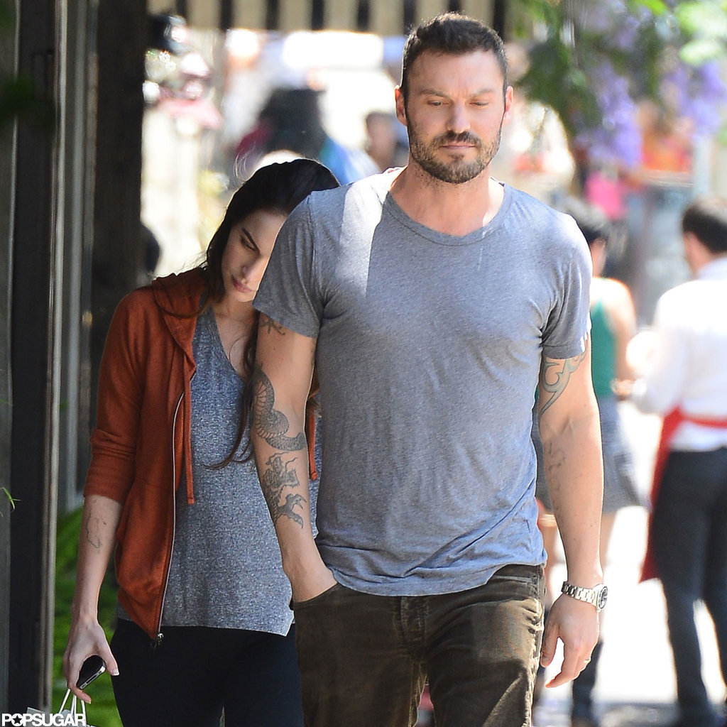 Megan Fox and Brian Austin Green grabbed lunch in Los Feliz.
