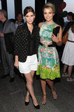 Kate Mara and Dianna Agron posed together at Coach's Summer Party on the High Line in NYC.