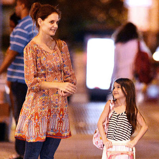 Katie Holmes and Suri Cruise Pictures in NYC
