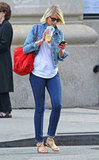 Cameron Diaz went for a walk in NYC solo.