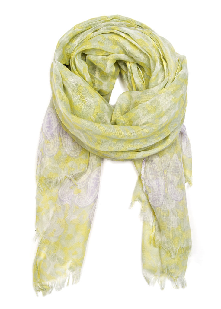This soft-toned lightweight scarf gets the dynamic it deserves via a faded animal print — perfect for cooler evenings with an exotic twist. Mango Animal Print Scarf ($20)