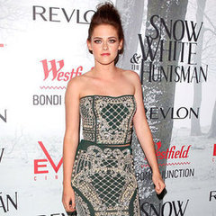 Kristen Stewart Gets Sexy in Sydney In Two Piece Balmain at the Snow White and the Huntsmen Premiere: See her Look from All Angl