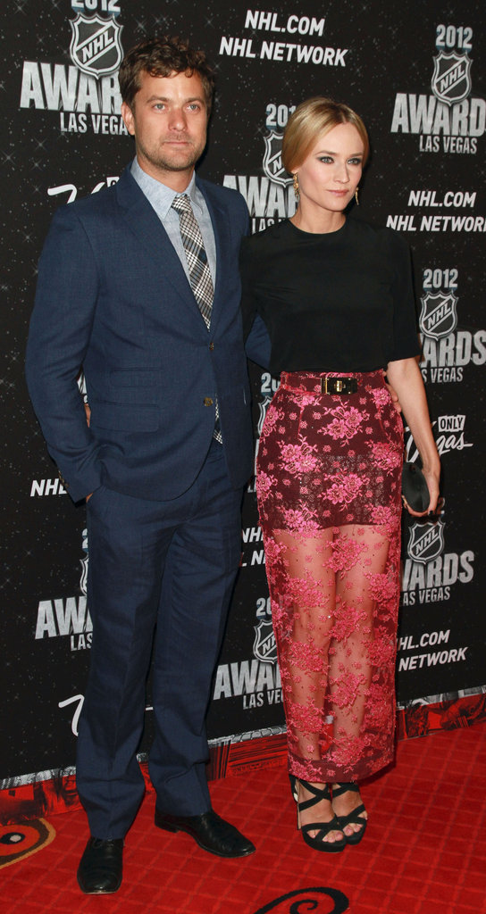 Joshua Jackson and Diane Kruger arrived at the 2012 NHL Awards in Las Vegas.