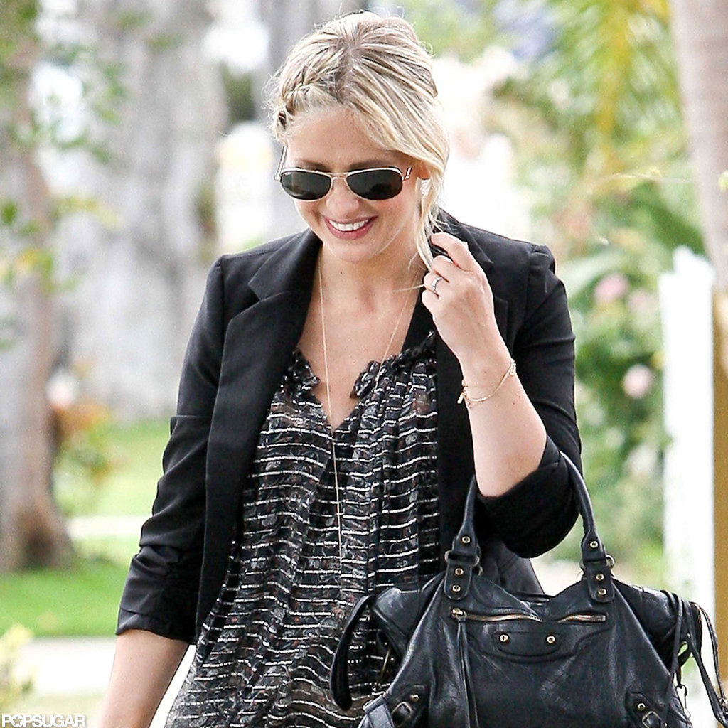 Sarah Michelle Gellar was all smiles on a walk with Charlotte.