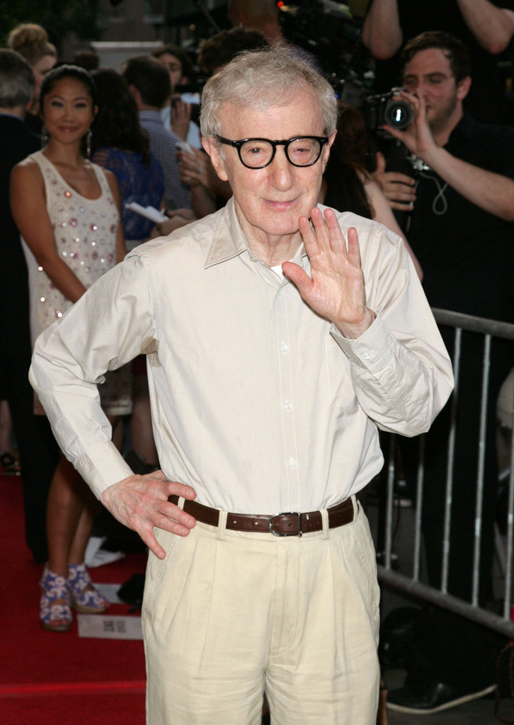Woody Allen attended a screening of To Rome With Love at the Paris Theatre in NYC.