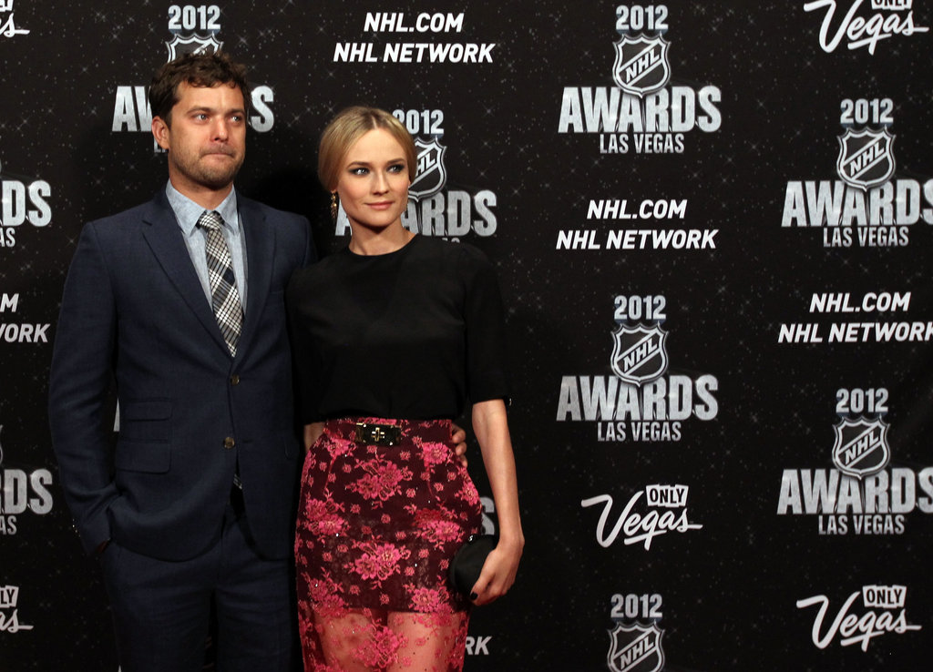 Joshua Jackson and Diane Kruger came out for the NHL Awards in Las Vegas.
