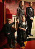 Madame Tussauds in Amsterdam re-created the outfits Will and Kate wore to the premiere of War Horse last year.