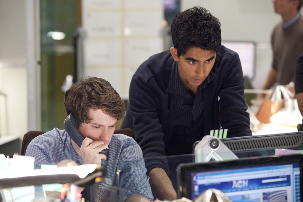 John Gallagher Jr. and Dev Patel on The Newsroom.