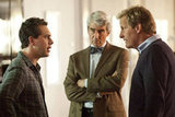 Thomas Sadoski, Sam Waterston, and Jeff Daniels on The Newsroom.