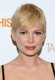 Michelle Williams wore an LBD for a premiere.