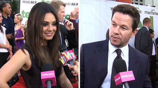 Video: Mila and Mark Talk Why They Signed On For Ted — Plus, Entourage Movie Update!