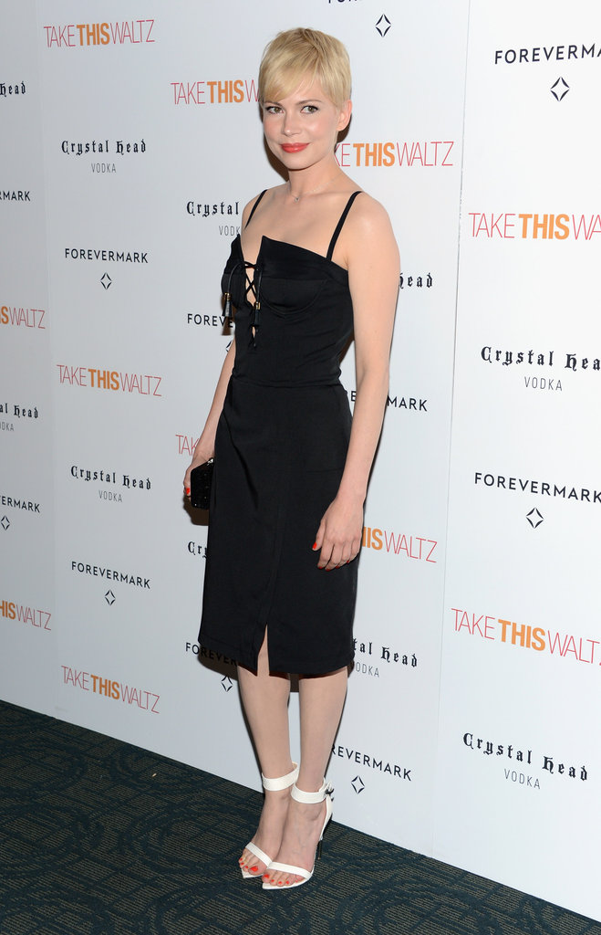 Michelle Williams wore Altuzarra.