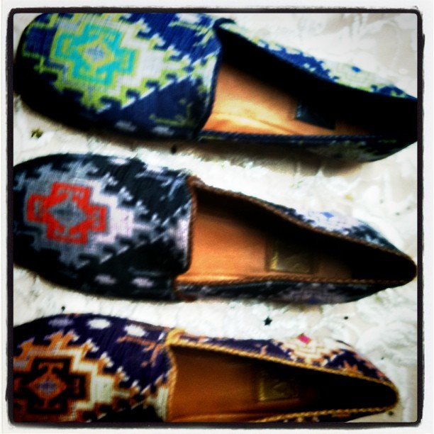 Ella Moss had a covetable take on the slipper with the coolest prints for Holiday.
