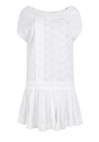 This pretty LWD will elicit tons of compliments whether you style it down for a beach day or up for a night out.  AllSaints Needle Dress ($75, originally $150)